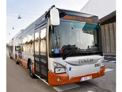 IVECO BUS to deliver 141 hybrid electric buses to the city of Brussels, Belgium