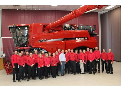 CNH Industrial hosts United States Congressman Adrian Smith at its Grand Island Plant
