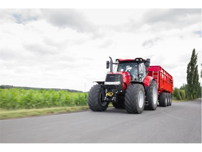 Case IH Advanced Trailer Brake System improves tractor stability and safety