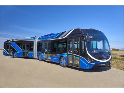IVECO BUS wins the 'Sustainable Bus of the Year' award for second consecutive year with its new CREALIS Electric Bus
