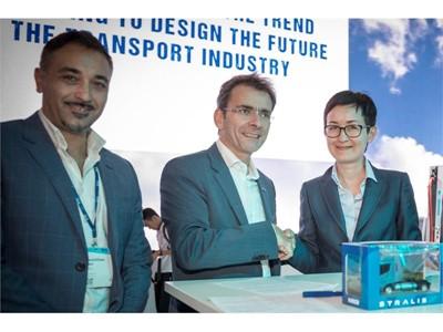 IVECO и «Автомобильная компания - Мостранс» подписали соглашение о покупке тягачей 500 Stralis NP в течение 10 лет