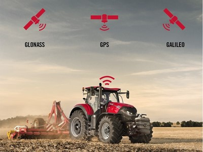 Galileo satellites to bring boost to Case IH AFS RTK+ users