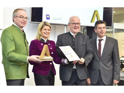STEYR S–BRAKE: GOLD MEDAL FOR INNOVATIVE SAFETY EQUIPMENT