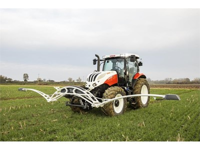 STEYR AGXTEND: New precision farming technologies enhance S-TECH performance