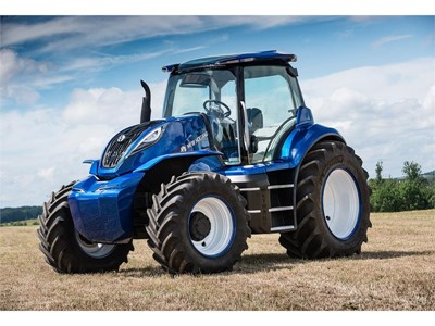 New Holland wins 2018 Good Design® Award for its Methane Powered Concept Tractor