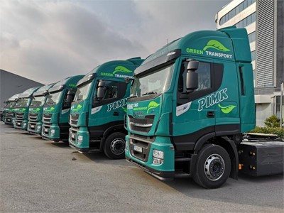 50 IVECO STRALIS NP trucks to PIMK Ltd., Bulgaria, for expansion of its fleet