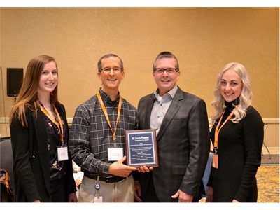 New Holland Saskatoon facility receives Leadership in Energy Management award from SaskPower utility company
