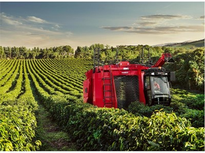 Case IH to bring coffee harvesting experience to Africa with self-propelled Coffee Express 200 Multi