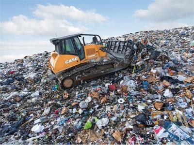 CASE Launches New Purpose-Built Landfill Configuration for 2050M Dozer