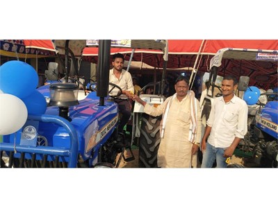 New Holland Agriculture inaugurates its new Tractor Dealership in Kochas, Bihar