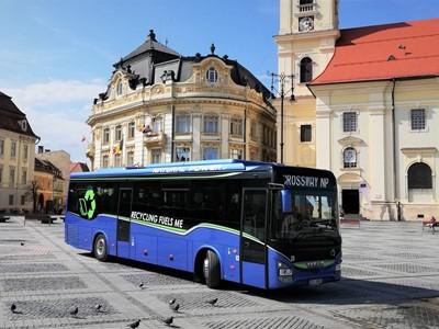 IVECO BUS третий год подряд получает награду «Устойчивый автобус года» (Sustainable Bus of the Year): в этот раз почетным званием награжден междугородний автобус Crossway Natural Power