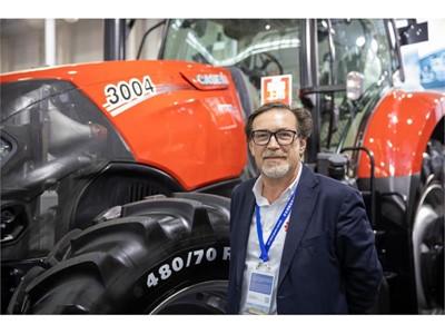 凯斯在2019中国国际农业机械展览会上展示了即将发售的全新拖拉机机型