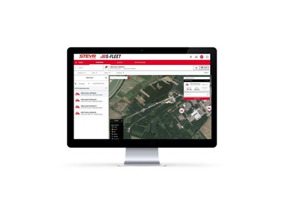 STEYR S-Fleet Portal for digitalisation of tractors, field and fleet operations starts 2020