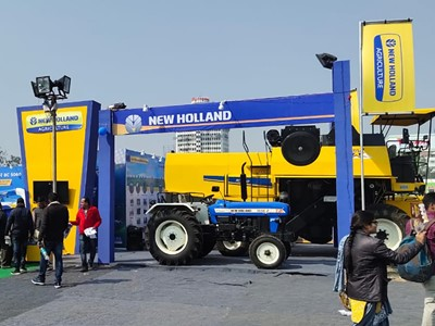 New Holland Agriculture entices visitors with a display of state-of-the-art Tractors at Agro Bihar 2020