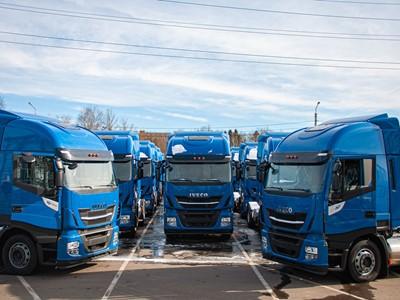 Компания IVECO осуществила поставку 50-ти грузовиков IVECO Stralis NP 460 на сжиженном природном газе