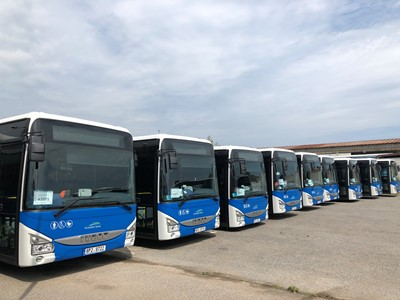 IVECO BUS delivers 145 Crossway Low Entry Line buses to ARRIVA in the Czech Republic