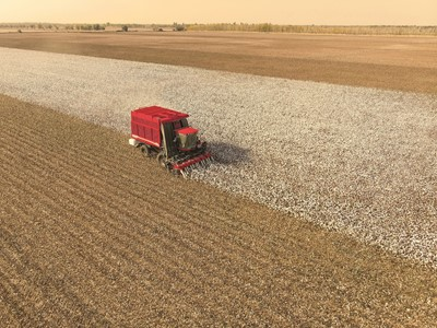 Case IH Cotton Express cotton picker