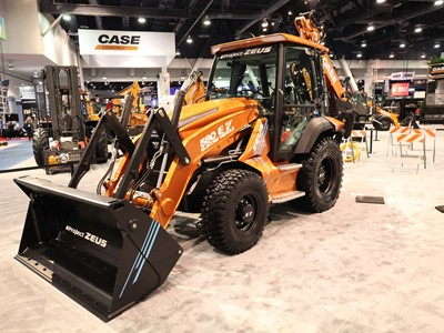 CASE Construction Equipment Project Zeus