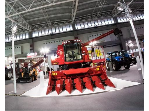 CNH Industrial brands Case IH, Case Construction and New Holland Agriculture at CIAME 2015 trade show in China