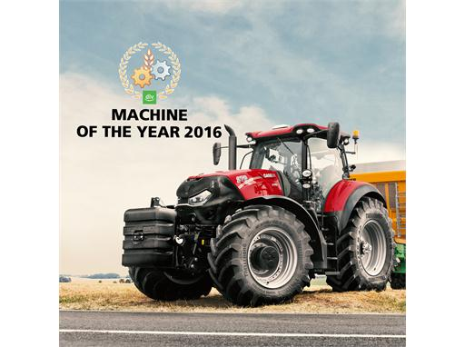 "Case IH: Brand new Optum CVX awarded ""Machine of the Year 2016"""