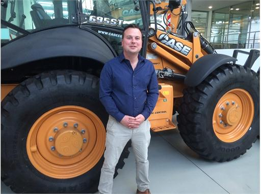 Ben Beard, new Case regional strategic accounts manager