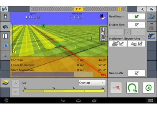 Case IH NextSwath Advanced Farming System Screenshot