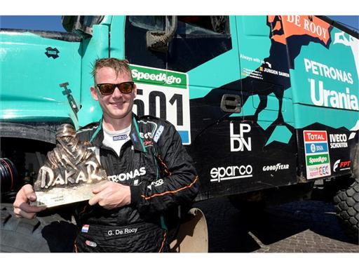 Gerard de Rooy wins first place at Dakar 2016