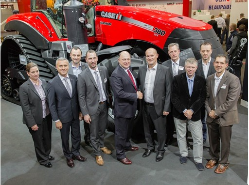 Case IH & Titan Machinery Management committing to future growth at Agritechnica 2015.