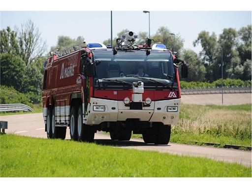 The Magirus Super Dragon 8x8 fire engine