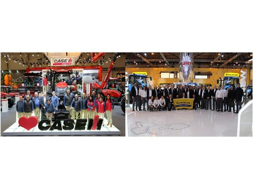 Case IH & New Holland Agriculture at FIMA 2016