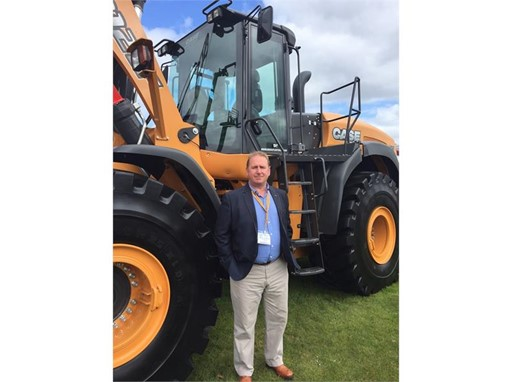 Dean Ashton, new heavy line specialist, joins CASE in the UK