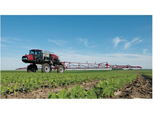 The new Case IH Patriot 2250 sprayer features best-in-class-rated and peak horsepower.