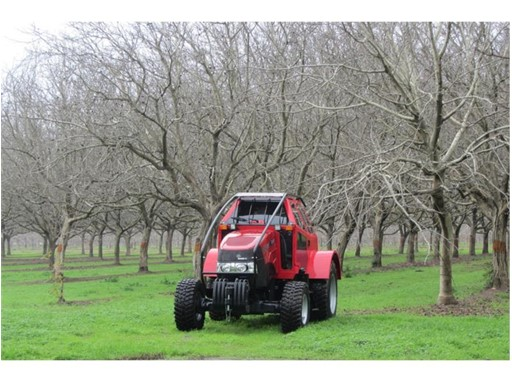 The new Case IH orchard cab
