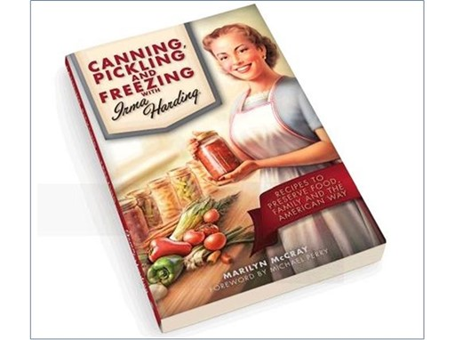 Irma Harding brings new life to food preservation in her very own recipe book.