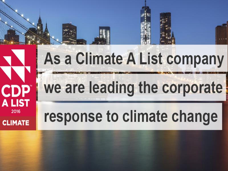 CDP Climate A List