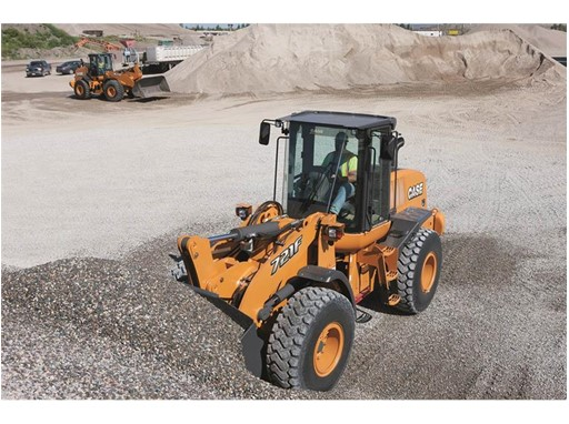 CASE Unveils Tier 4 Final 621F and 721F Wheel Loaders