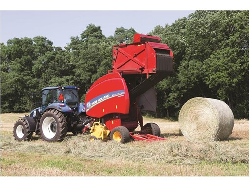 New Holland's All New Roll-Belt™ Variable Chamber Round Balers