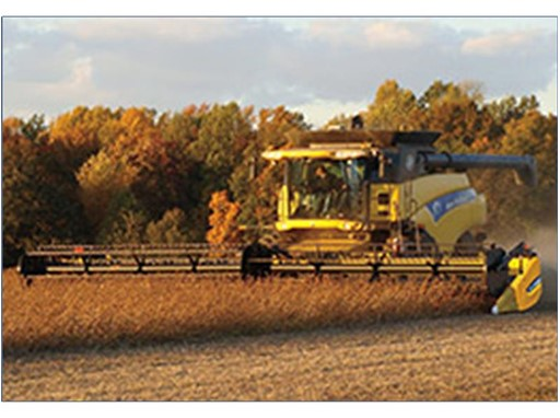 High-Capacity Draper Headers Designed for New Holland Combines Cut Harvest Losses