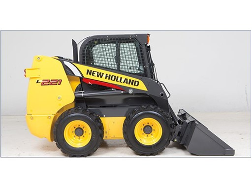 New Holland's newest addition to the 200 Series, the L221 skid steer