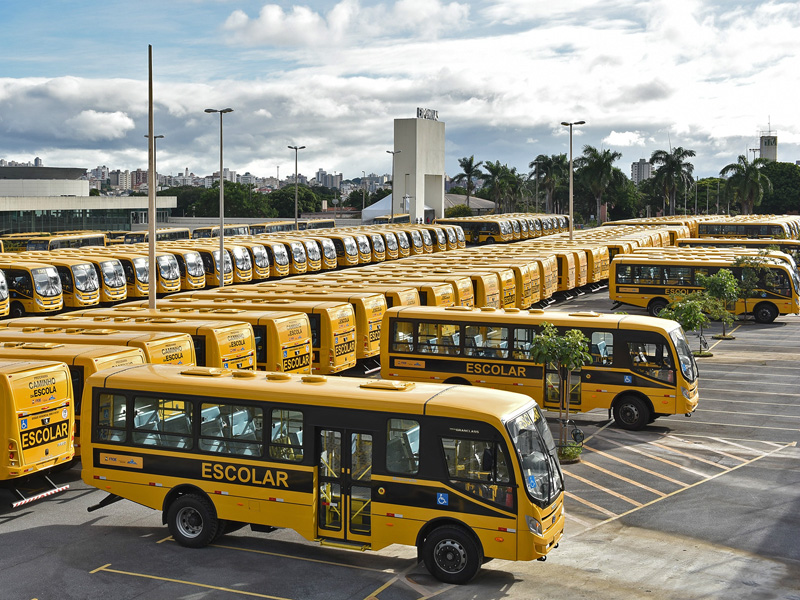 Delivery of 628 IVECO BUS school buses to the Brazilian state of Minas Gerais