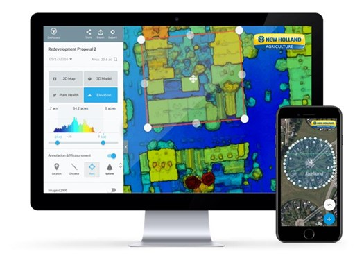 Advanced New Holland PLM, Precision Land Management Devices
