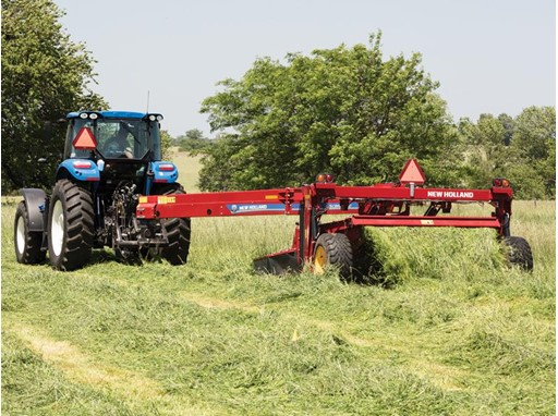 New Holland Agriculture Adds New Discbine® Models to Disc Mower-Conditioner Product Offering