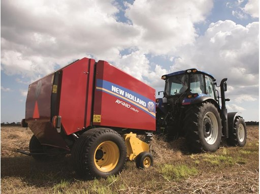 New Holland Agriculture Unveils Three New RF Series Fixed Chamber Round Balers