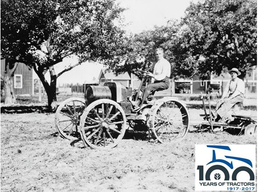 New Holland Agriculture Celebrates 100 Years of Tractors