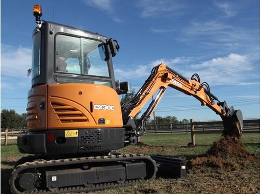 CASE CX30C compact excavator