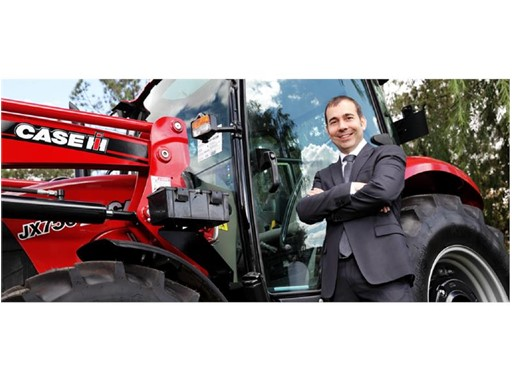 Case IH Brand Leader, Asia Pacific, Matthieu Sejourne