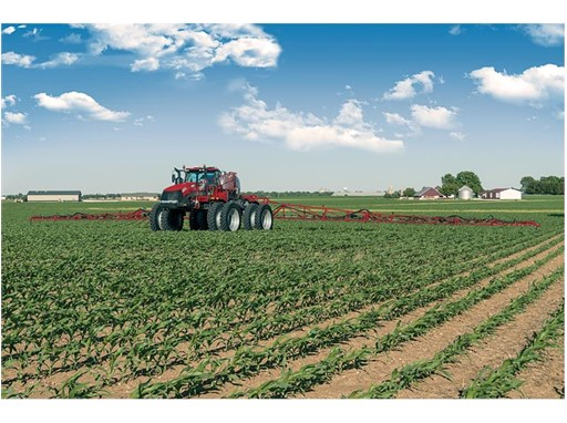 The Trident 5550 combination applicator is the highest-horsepower high-clearance combination applicator available.