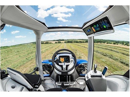 New Holland Agriculture представляет концепт трактора, работающий на метане