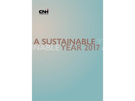 CNH Industrial - A Sustainable Year Cover
