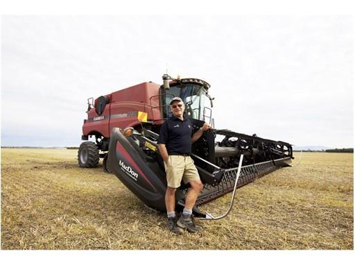 Case IH устанавливает новый мировой рекорд по уборке пшеницы
